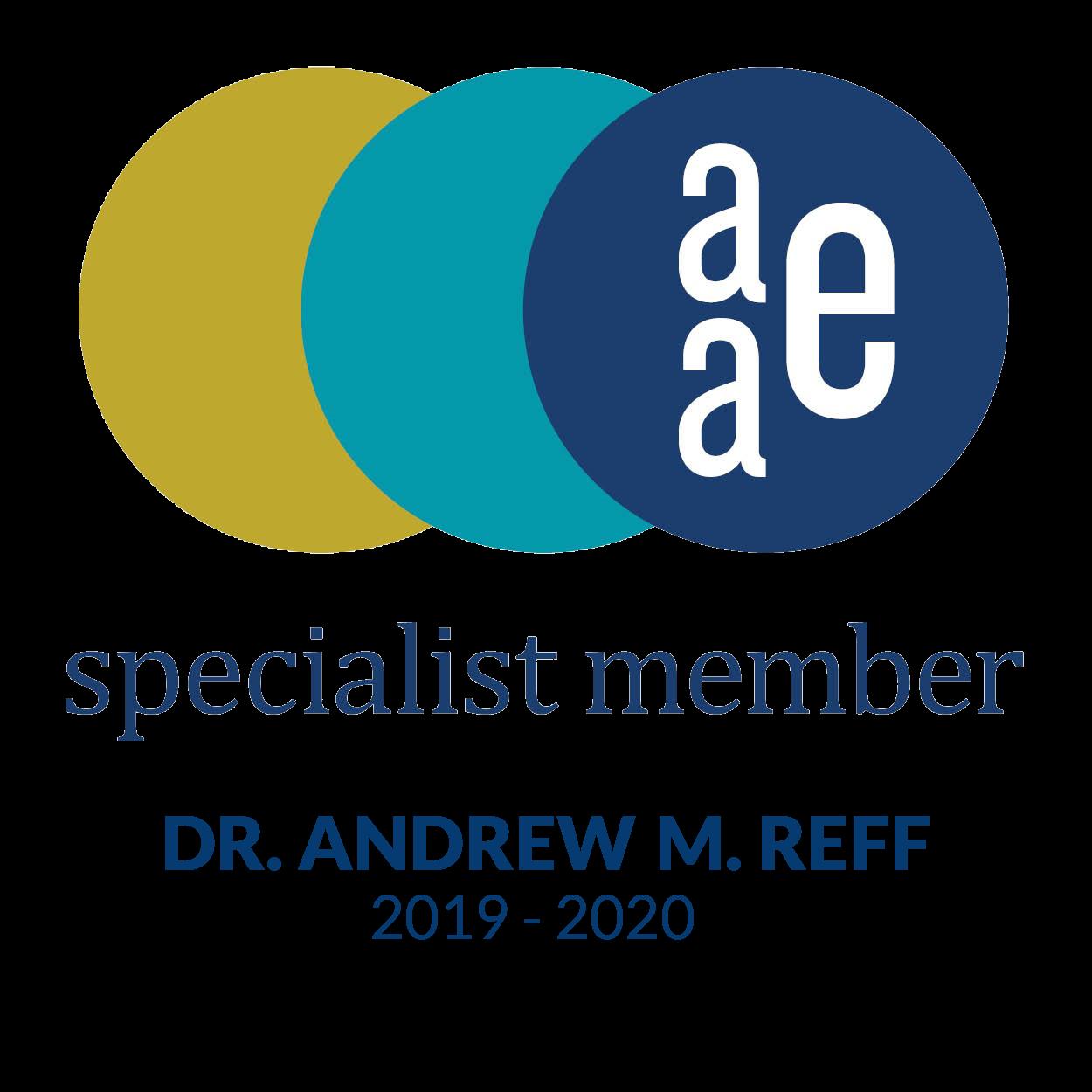 AAE-Logo-Andrew-M-Reff-DDSMS-2019-2020
